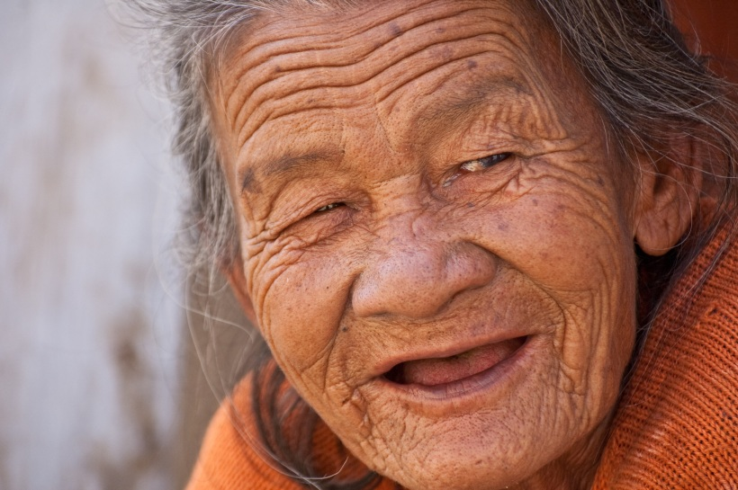 old-lady-smile-beautiful-woman