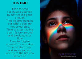 time to forgive yourself